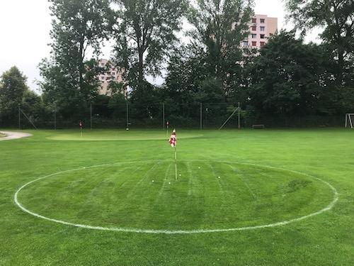 CityGolf: ein zusätzliches Übungs-Green – City Golf Basel – Bachgraben